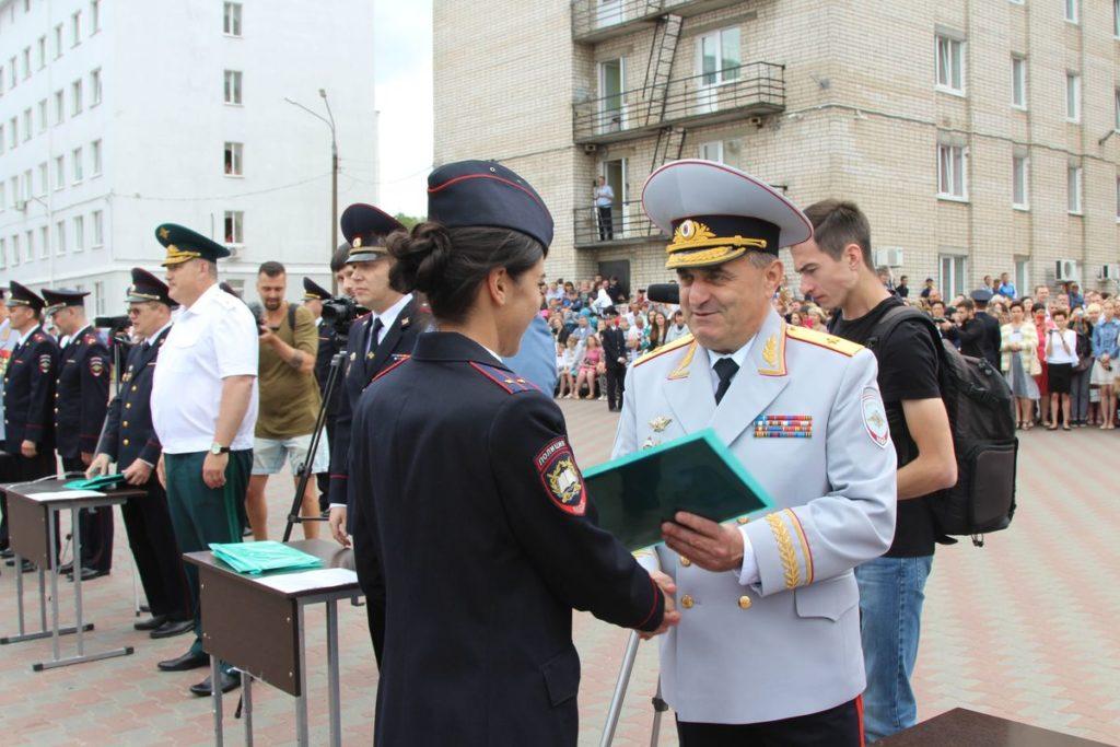 Выпускники Нижегородской академии МВД России