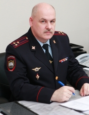 Заместитель начальника СибЮИ Калугин Алексей Геннадьевич