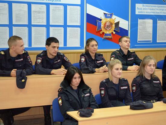 Аудитории Института МВД в Иркутске