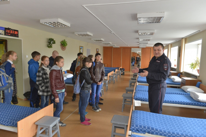 Общежитие для курсантов Восточно-Сибирского института МВД