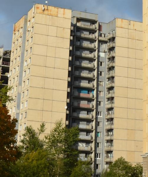 Здания общежитий Санкт-Петербургского университета МВД России