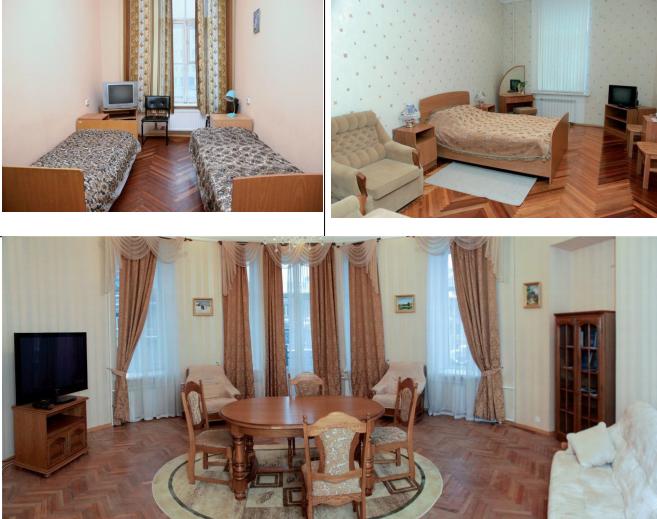 Комнаты общежитий Санкт-Петербургского университета МВД России