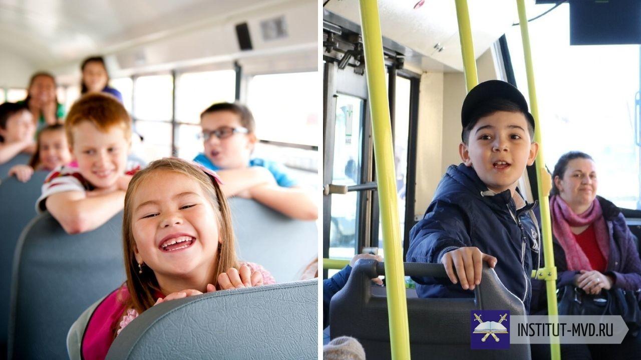 Возраст бесплатного проезда ребенка в России зависит от вида общественного транспорта