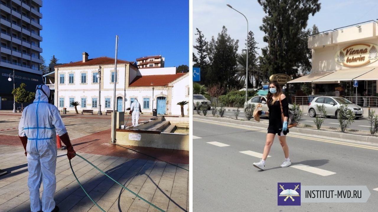 На Кипре продолжают действовать ограничительные меры в связи с распространением инфекции